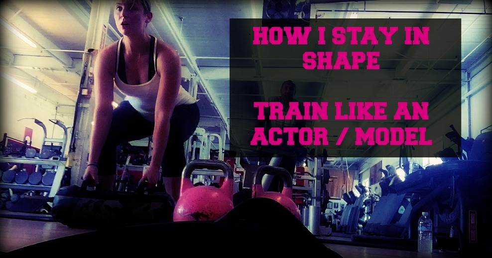 How I Stay In Shape | Day In The Life Of An Actor / Model